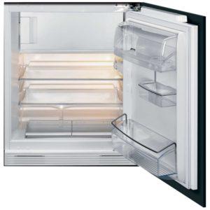 Smeg UKUD7122CSP Cucina Integrated Built Under Fridge With Ice Box