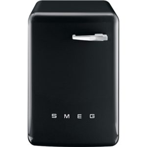 Smeg WMFABBL-2 7kg Retro Style Washing Machine 1400rpm – BLACK