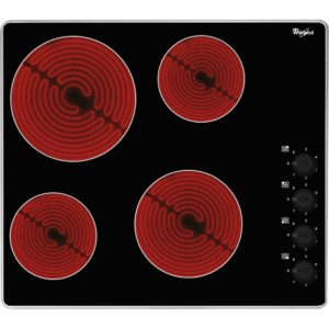 Whirlpool AKM609IX 58cm 4 Zone Ceramic Hob – STAINLESS STEEL