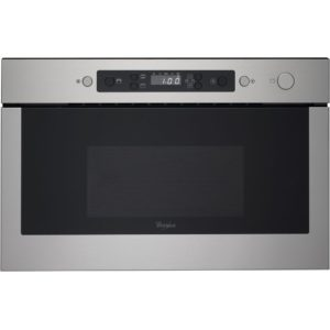 Whirlpool AMW439IX Built In Microwave & Grill For Wall Unit – STAINLESS STEEL