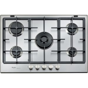Whirlpool GMF7522IXL 73cm Five Burner Gas Hob – STAINLESS STEEL