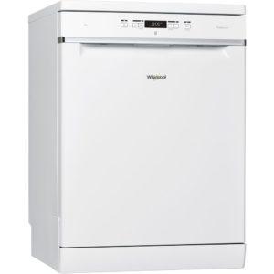 Whirlpool WFC3C24PUK 60cm Freestanding Dishwasher – WHITE