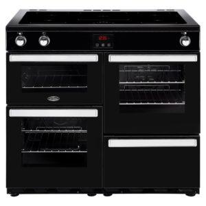 Belling COOKCENTRE 100EIBLK 4092 100cm Induction Range Cooker – BLACK