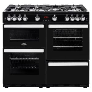 Belling COOKCENTRE 100GBLK 4089 100cm Gas Range Cooker – BLACK