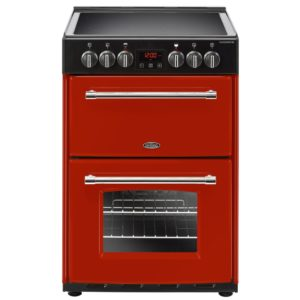 Belling FARMHOUSE 60EHJA 4712 60cm Freestanding Electric Cooker – RED