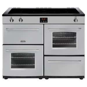 Belling FARMHOUSE 110EISIL 4155 110cm Induction Range Cooker – SILVER