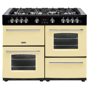 Belling FARMHOUSE 110GCRM 4153 110cm Gas Range Cooker – CREAM