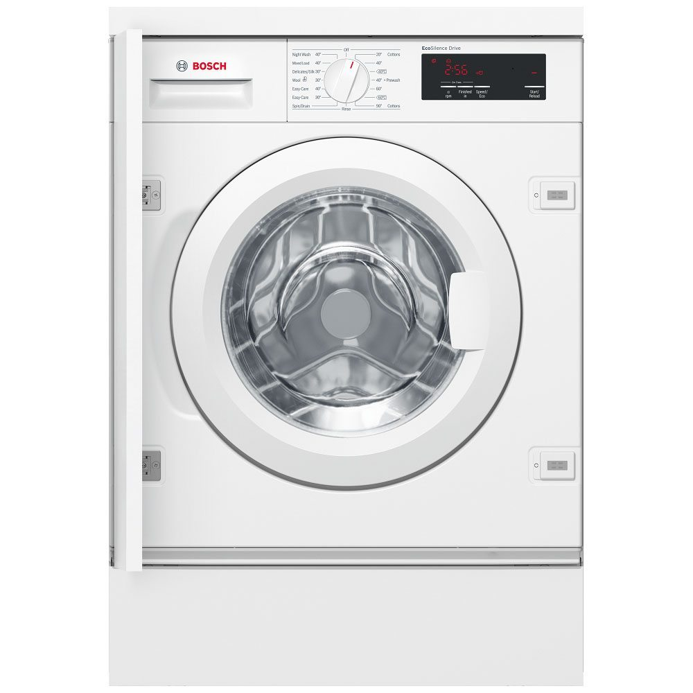 Bosch Serie 6 WIW28301GB Integrated 8Kg Washing Machine with 1400 rpm - A+++ Rated