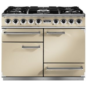 Falcon F1092DXDFCR/CM 1092 Deluxe Dual Fuel Range Cooker – CREAM
