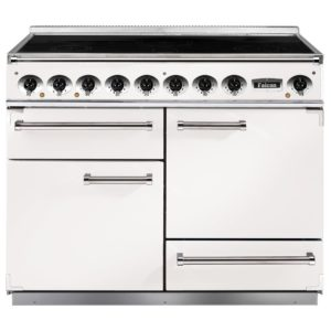 Falcon F1092DXEIWH/N 1092 Deluxe Induction Range Cooker – WHITE