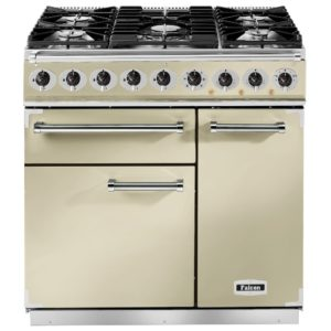Falcon F900DXDFCR/BM 900 Deluxe Dual Fuel Range Cooker – CREAM