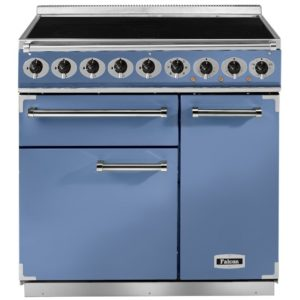 Falcon F900DXEICA/N 900 Deluxe Electric Induction Range Cooker – BLUE