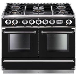 Falcon FCON1092DFBL/CM Continental 1092 Dual Fuel Range Cooker – BLACK