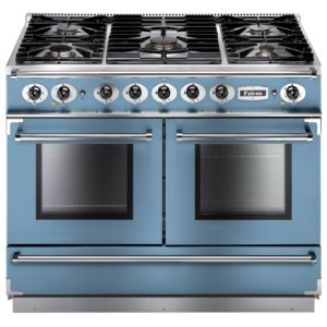Falcon FCON1092DFCA/NM Continental 1092 Dual Fuel Range Cooker – BLUE