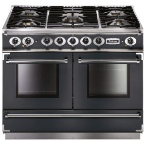 Falcon FCON1092DFSL/NM Continental 1092 Dual Fuel Range Cooker – SLATE