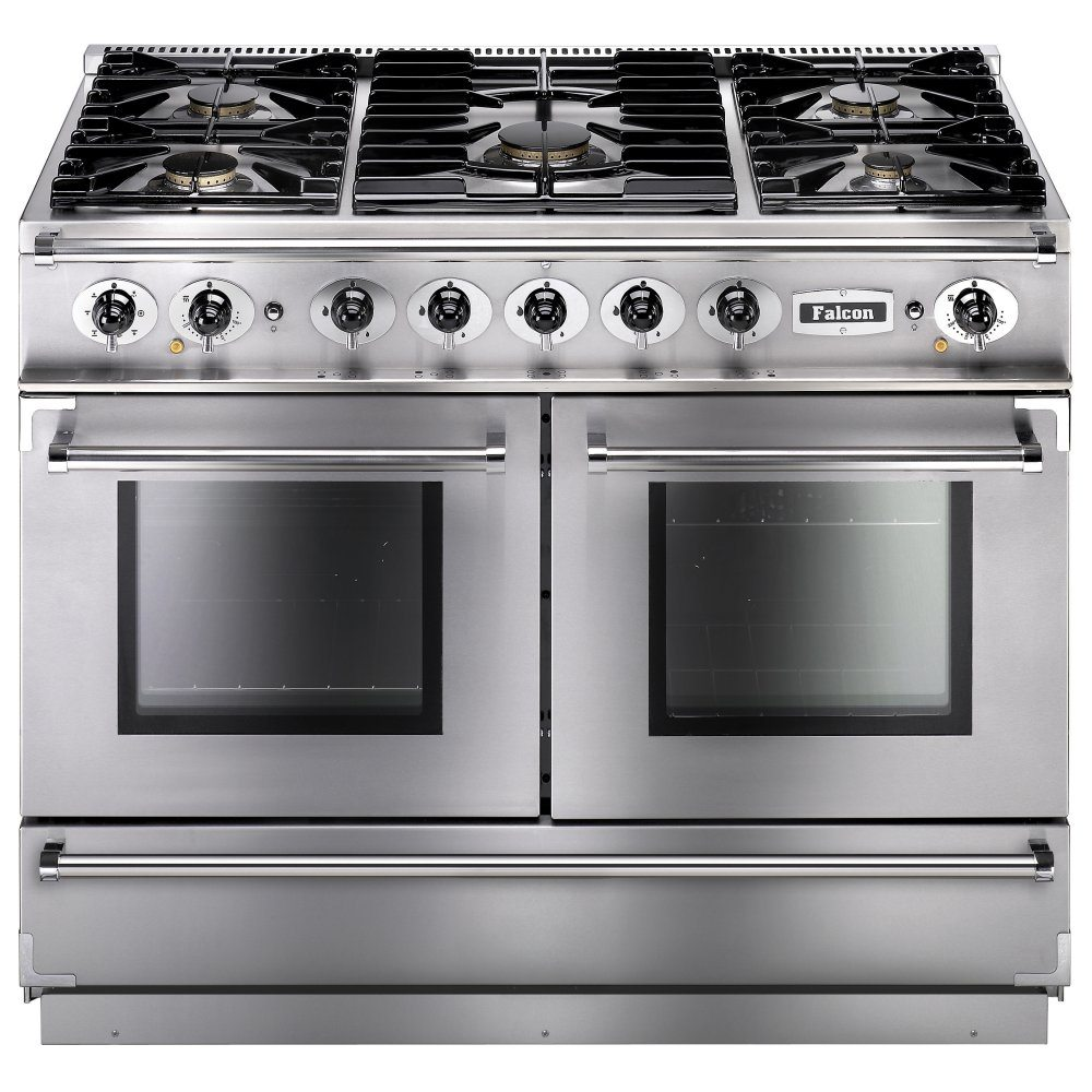 Falcon FCON1092DFSS/CM Continental 1092 Dual Fuel Range Cooker - STAINLESS STEEL
