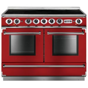 Falcon FCON1092EIRD/N Continental 1092 All Electric Induction Range Cooker – RED