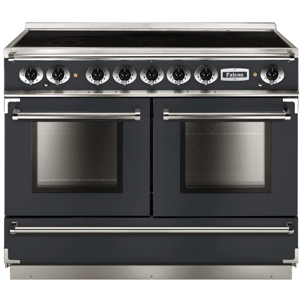 Falcon FCON1092EISL/N Continental 1092 All Electric Induction Range Cooker - SLATE