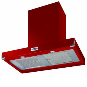 Falcon FHDCT900RD/N Contemporary Chimney Hood 900mm – RED