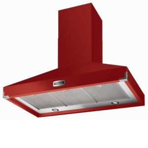 Falcon FHDSE900RD/N Traditions 900 Super Extract Chimney Hood – RED