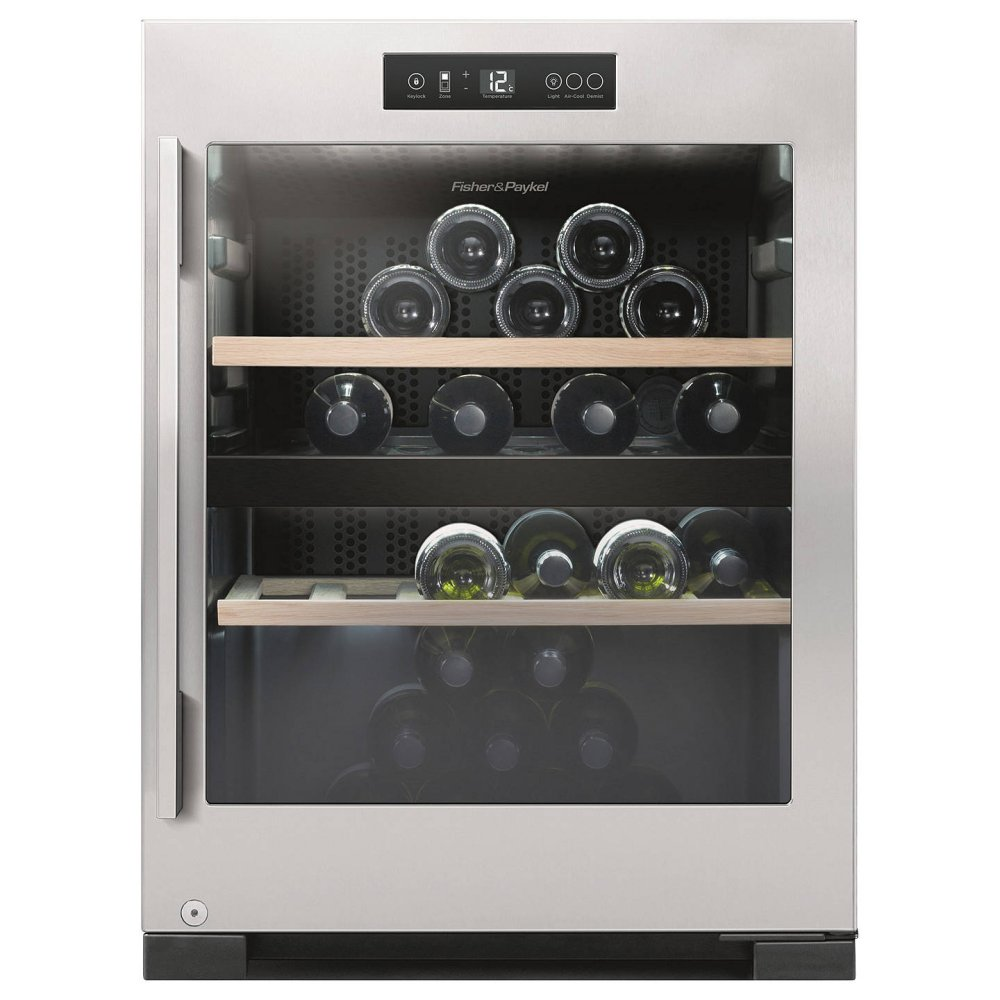 Fisher & Paykel RF106RDWX1 Wine Cooler Stainless Steel