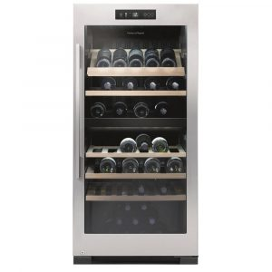 Fisher Paykel RF206RDWX1 60cm Freestanding Dual Zone Wine Cooler – STAINLESS STEEL