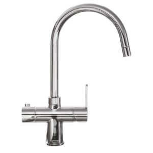 Franke MINERVA CHROME 3-In-1 Boiling Water Tap – CHROME