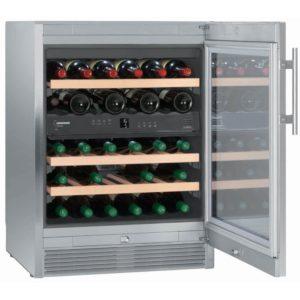 Liebherr WTES1672 60cm Freestanding Vinidor Dual Zone Wine Cooler – STAINLESS STEEL