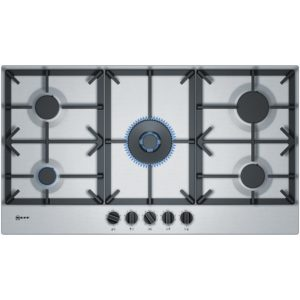 Neff T29DS69N0 90cm 5 Burner FlameSelect Gas Hob – STAINLESS STEEL