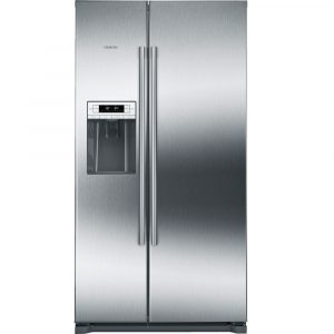 Siemens KA90DVI20G IQ-500 American Style Fridge Freezer With Ice & Water – STAINLESS STEEL