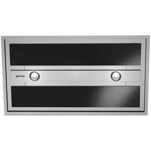 Smeg KSEG90VXNE-2 90cm Ceiling Hood – BLACK