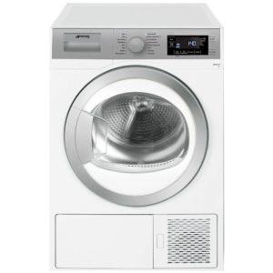 Smeg DHT81LUK 8kg Heat Pump Condenser Tumble Dryer – WHITE