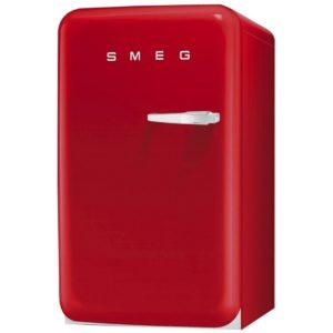 Smeg FAB10LR 55cm Red Retro Refrigerator Left Hand Hinge – RED