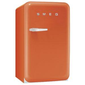 Smeg FAB10RO 55cm Orange Retro Refrigerator Right Hand Hinge – ORANGE