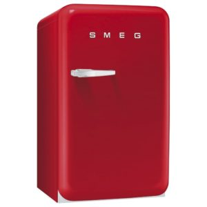 Smeg FAB10RR 55cm Red Retro Refrigerator Right Hand Hinge – RED