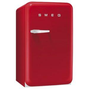 Smeg FAB10HRR 55cm Retro Homebar Fridge Right Hand Hinge – RED