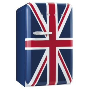 Smeg FAB10RUJ 55cm Retro Refrigerator Right Hand Hinge – UNION JACK