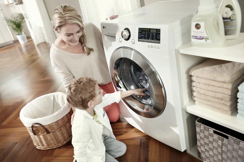 LG tumble dryer