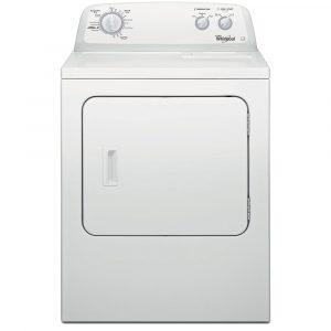 Whirlpool 3LWED4705FW 15kg American Vented Dryer – WHITE
