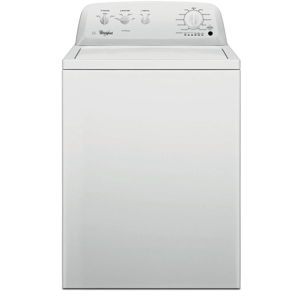 Whirlpool 3LWTW4705FW 15kg American Top Loading Washing Machine - WHITE