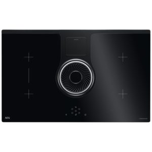 Elica NIKOLATESLA SWITCH RC 83cm Switch Recirculation Venting Induction Hob – BLACK