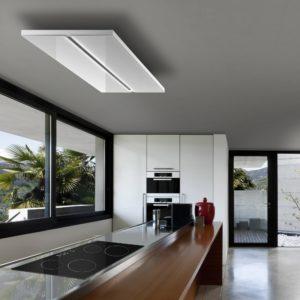 Air Uno VERDI 120 WH 120cm Verdi Recirculating Ceiling Hood – WHITE