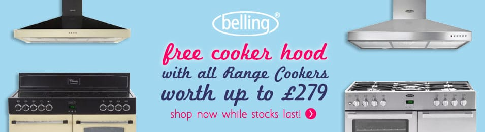 Shop Now - FREE Cooker Hood with all Belling Range Cooker | An Appliance City Exclusive