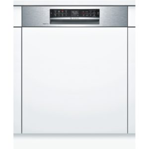 Bosch SMI68TS06E Serie 6 60cm Semi Integrated Dishwasher – STAINLESS STEEL