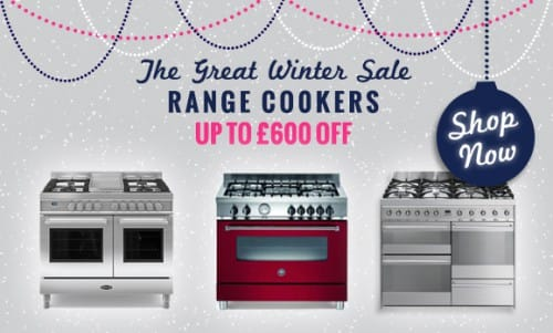The Great Winter Sale NOW ON! - up to £600 off Range Cookers | Appliance City