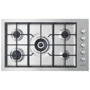 Fisher Paykel CG905DWNGFCX3 90cm 5 Burner Gas Hob – STAINLESS STEEL
