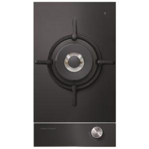 Fisher Paykel CG301DLPGB1 30cm Dual Burner LPG Gas On Glass Hob – BLACK