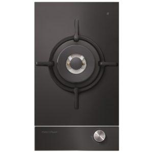 Fisher Paykel CG301DNGGB1 30cm Dual Burner Gas On Glass Hob – BLACK