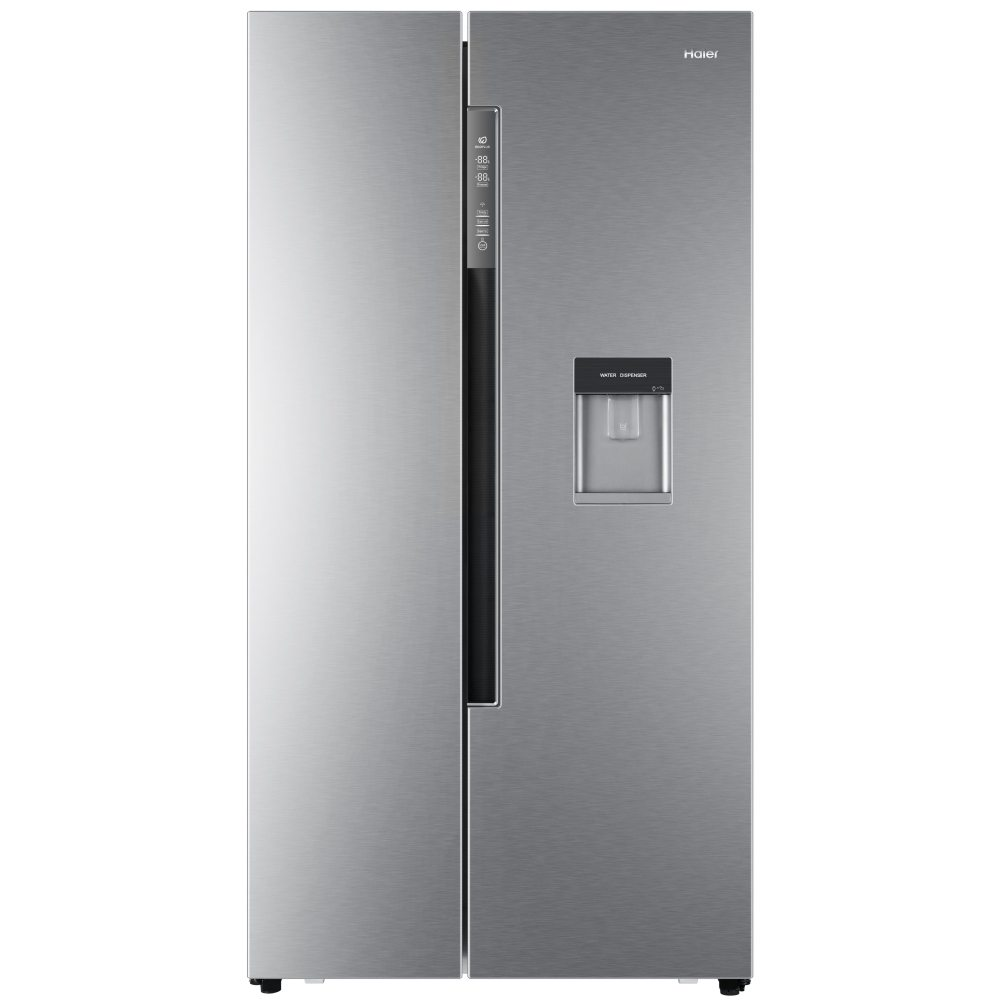 Haier HRF-522IG6 American Style Fridge Freezer With Ice & Water - SILVER