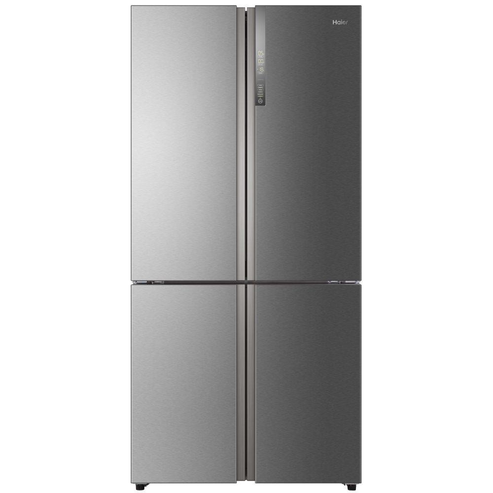 Haier HTF-610DM7 Cube Series American Style Four Door Fridge Freezer Non Ice & Water - STAINLESS STEEL